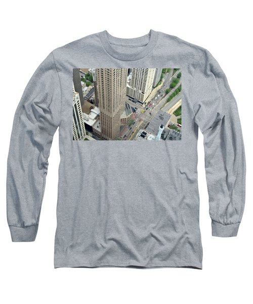 Chicago Streets Long Sleeve T-Shirt