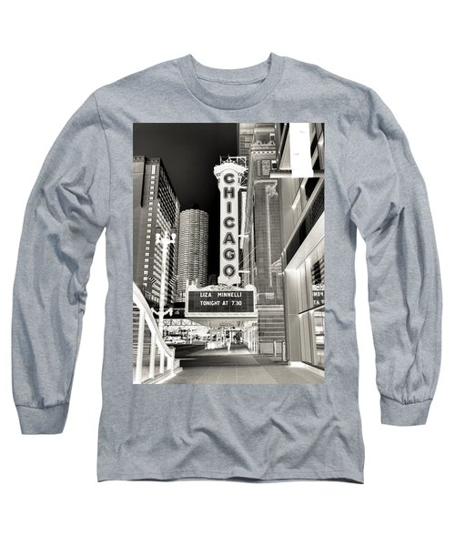 Chicago Theater - 2 Long Sleeve T-Shirt by Ely Arsha