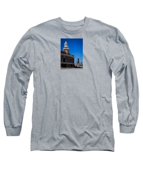 Long Sleeve T-Shirt featuring the photograph Chicago's Navy Pier by Kathleen Scanlan