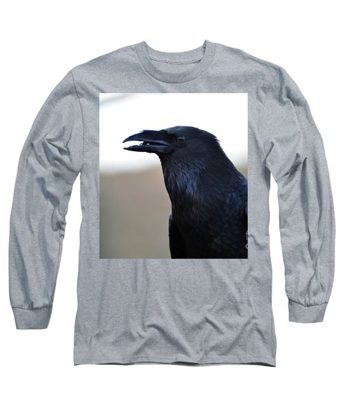 Chihuahua Raven Profile Long Sleeve T-Shirt