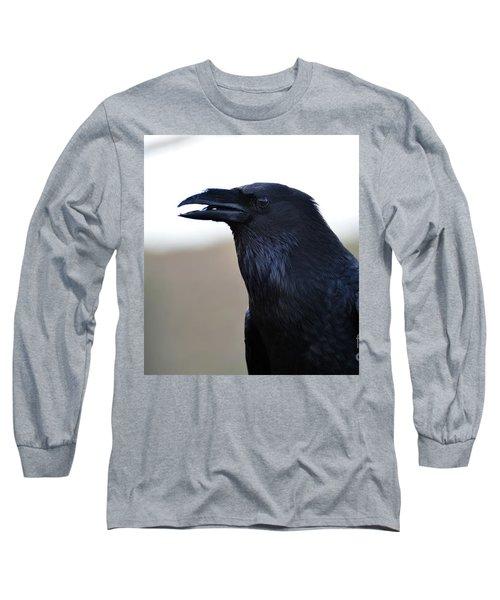 Chihuahua Raven Profile Long Sleeve T-Shirt