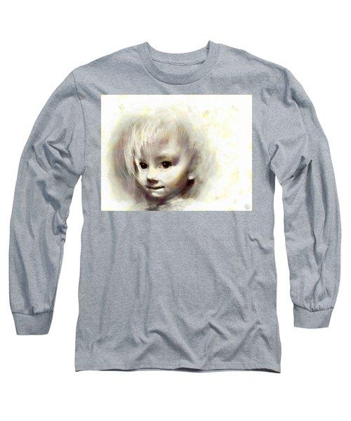 Child Portrait Long Sleeve T-Shirt