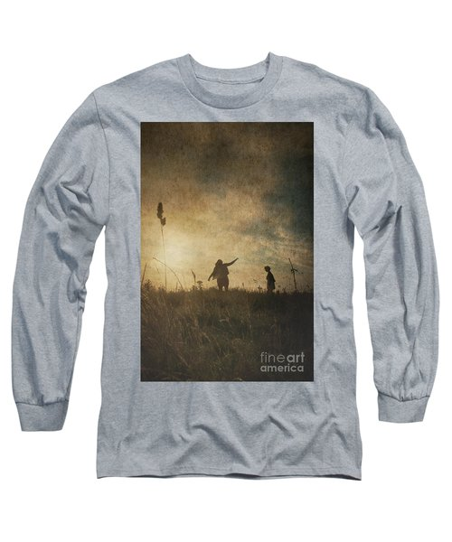 Children Playing Long Sleeve T-Shirt