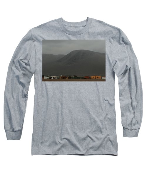Chilean Village In Atacama Desert Long Sleeve T-Shirt