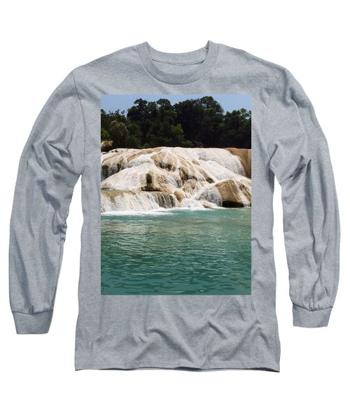Chilon Waterfall. Long Sleeve T-Shirt