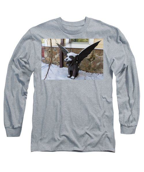 Chimera In The Snow Long Sleeve T-Shirt