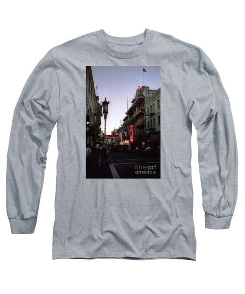 China Town San Francisco  Long Sleeve T-Shirt