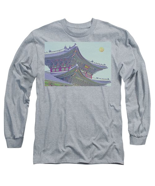 Chinese Building Long Sleeve T-Shirt