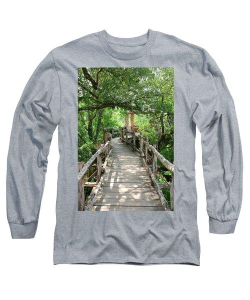 Chinese Garden Long Sleeve T-Shirt