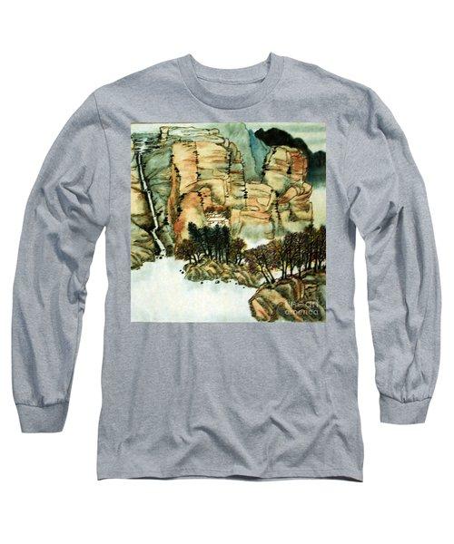 Chinese Landscape #1 Long Sleeve T-Shirt