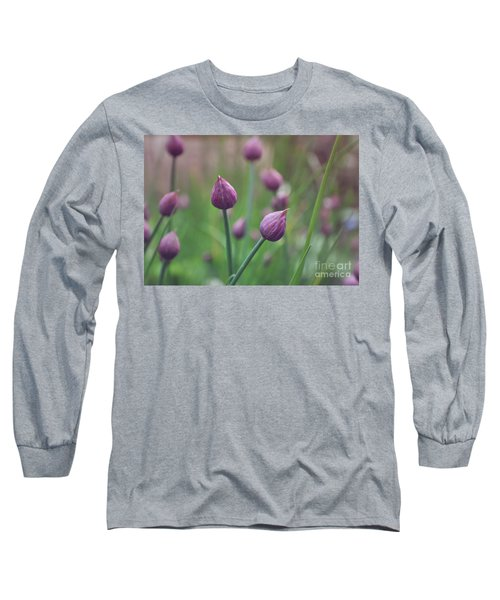 Chives Long Sleeve T-Shirt by Lyn Randle