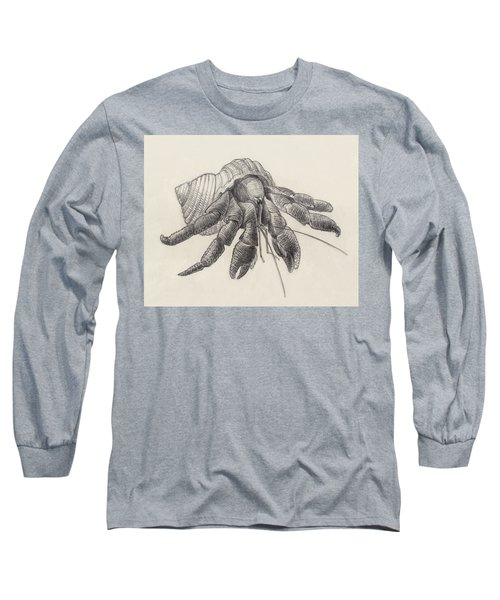 Chocolate Hermit Crab Long Sleeve T-Shirt