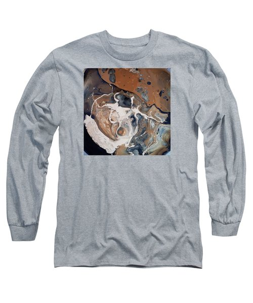 Chocolate Ice Cream Vulture Beek Long Sleeve T-Shirt