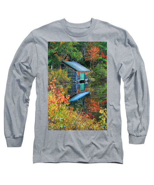 Chocorua Boathouse Long Sleeve T-Shirt