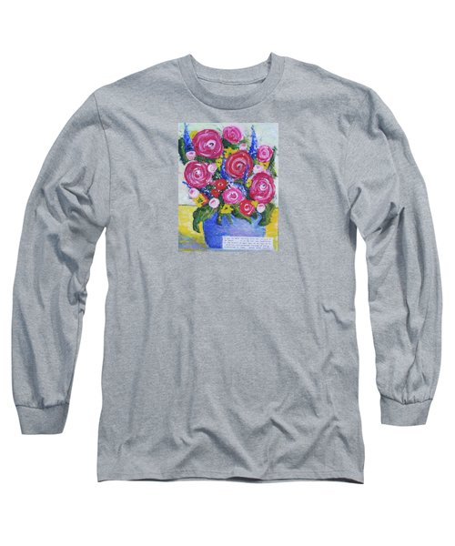 Choice Bouquet Long Sleeve T-Shirt