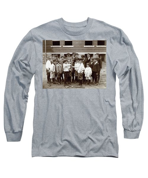 Choosing Baseball Teams Long Sleeve T-Shirt