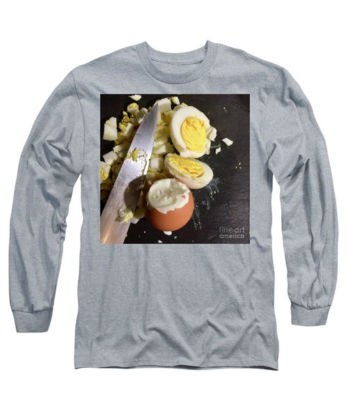 Chopped Long Sleeve T-Shirt by Kim Nelson