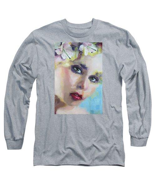 Chris Long Sleeve T-Shirt by Richard Barone