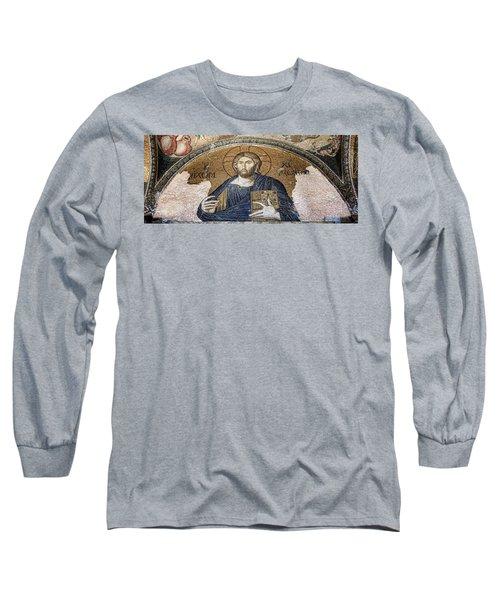 Christ Pantocrator -- Chora Long Sleeve T-Shirt