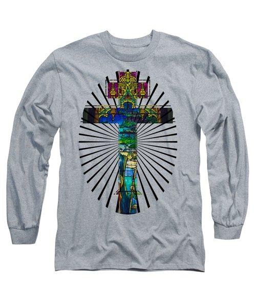 Christian Cross No 1 Long Sleeve T-Shirt