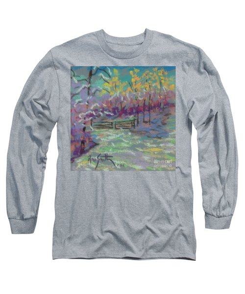 Christmas Day Sketch Long Sleeve T-Shirt by Rae  Smith PAC