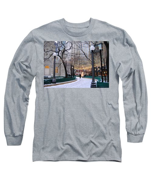 Christmas In Chicago Long Sleeve T-Shirt