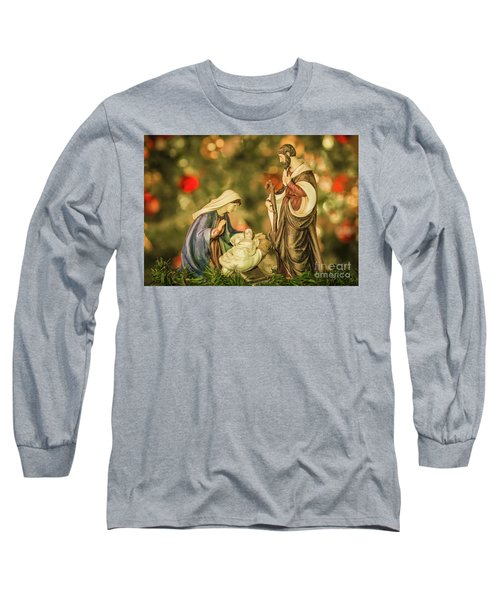 Christmas Nativity Long Sleeve T-Shirt