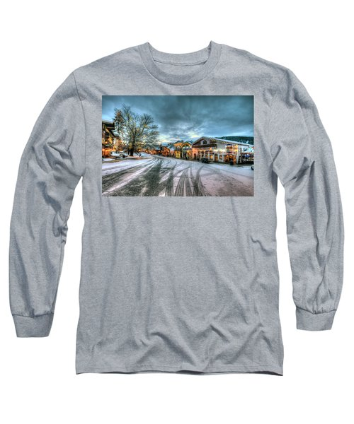 Christmas On Main Street Long Sleeve T-Shirt