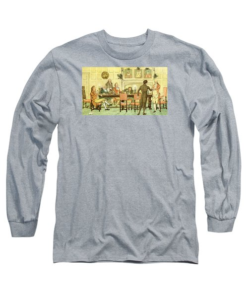 Christmas Welcome From Squire Long Sleeve T-Shirt