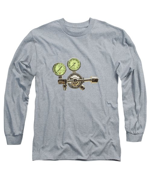 Chrome Regulator Gauges Long Sleeve T-Shirt