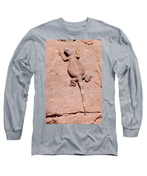 Chuckwalla, Saurolamus Ater Long Sleeve T-Shirt