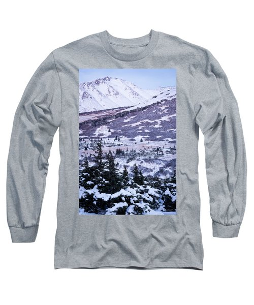 Chugach In Alpenglow Long Sleeve T-Shirt