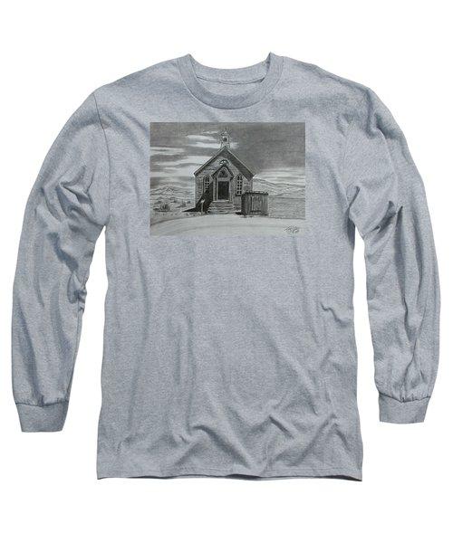Church  At Bodie  Long Sleeve T-Shirt by Tony Clark