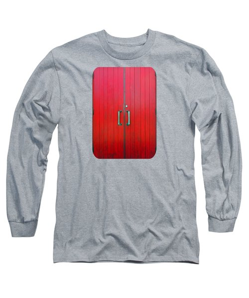Long Sleeve T-Shirt featuring the photograph Church Door by Ethna Gillespie