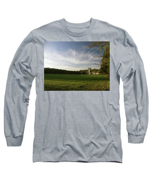 Church On The Edge Of A Forest Long Sleeve T-Shirt