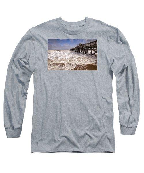 Churn Long Sleeve T-Shirt by David Cote