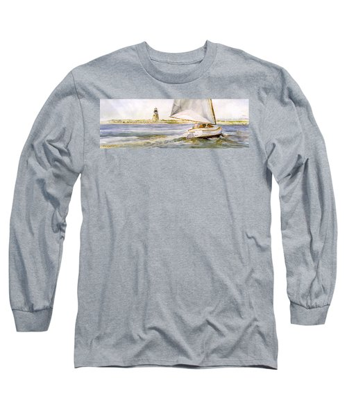 Cimba At Bird Island Light Long Sleeve T-Shirt