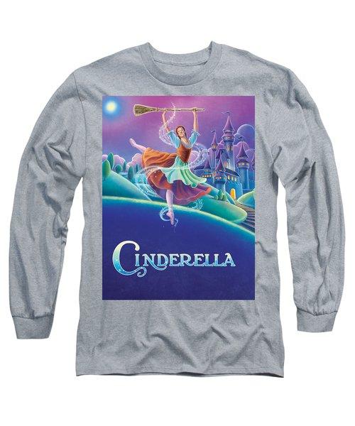 Cinderella Poster Long Sleeve T-Shirt