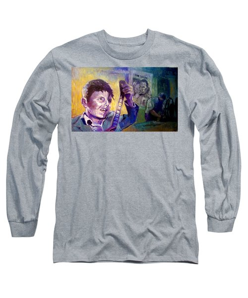 Cinema Paradiso Long Sleeve T-Shirt by Paul Weerasekera