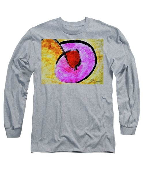 Long Sleeve T-Shirt featuring the painting Circle Of Life by Joan Reese