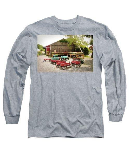 Circle The Wagons Long Sleeve T-Shirt