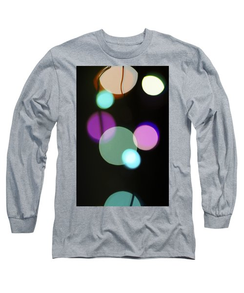 Circles And String Long Sleeve T-Shirt by Susan Stone