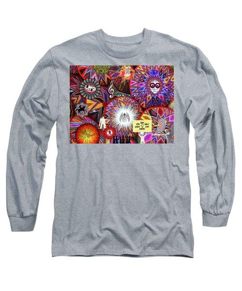 Circles Everywhere Long Sleeve T-Shirt