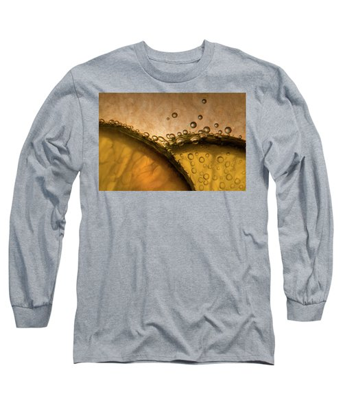 Citrus Abstract Long Sleeve T-Shirt