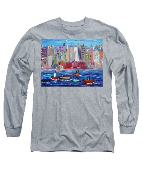 City City City Long Sleeve T-Shirt