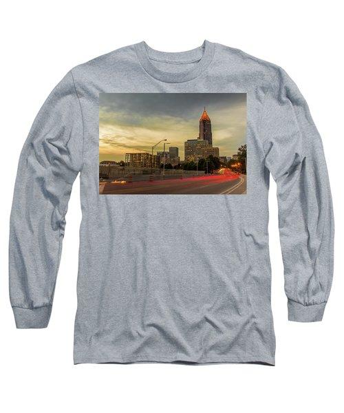 City Sunset Long Sleeve T-Shirt