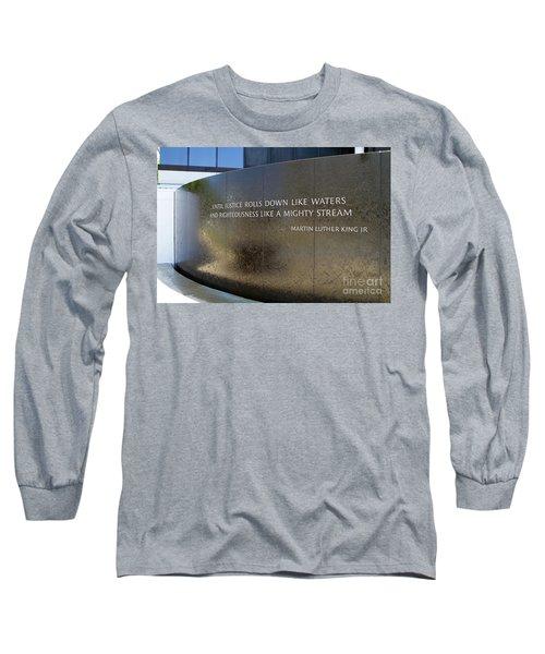 Civil Rights Memorial Long Sleeve T-Shirt