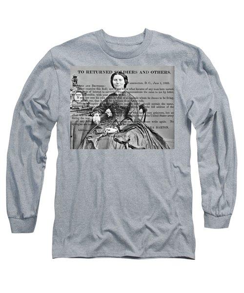 Clara Barton Long Sleeve T-Shirt