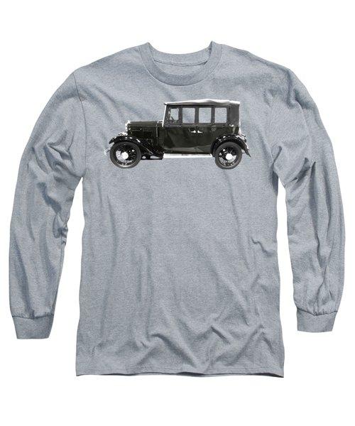 Classic Motor Black Art Long Sleeve T-Shirt