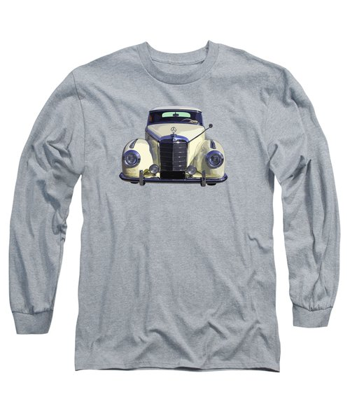 Classic White Mercedes Benz 300  Long Sleeve T-Shirt by Keith Webber Jr